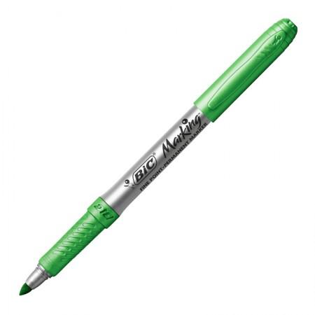 Pincel marcador permanente Marking - Verde Metálico - 971032 - Bic