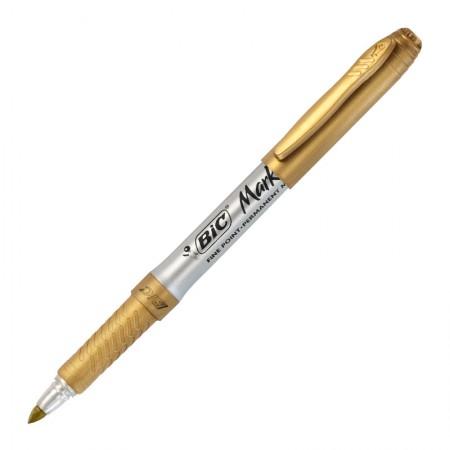 Pincel marcador permanente Marking - Dourado Metálico - 971033 - Bic