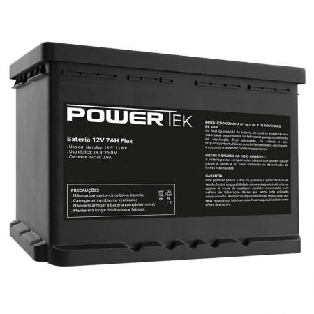 Bateria Powertek 12V 7AH Flex - EN012 - Multilaser