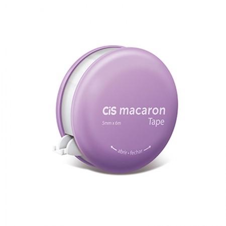 Corretivo em fita Macaron - 5mm x 6m - unidade - Lilas - Cis