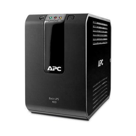 No-break 110v 400VA preto - Back-UPS BZ400G-BR - 4 tomadas - APC