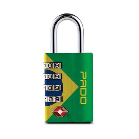 Cadeado executive 4 segredos - Brasil - Pado