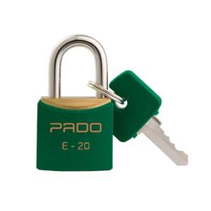 Cadeado 20mm - SM E-20 - Verde - Pado