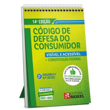 Livro - código de defesa do consumidor - Editora Rideel
