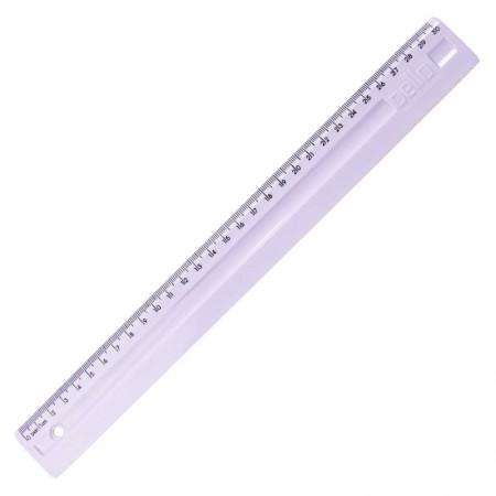 Régua plástica 30cm - Linho Serena - Lilas pastel- 3112.LP - Dello