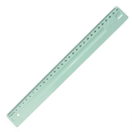 Régua plástica 30cm - Lihno Serena - Verde pastel - 3112.VP - Dello