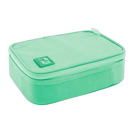 Estojo Box Académie - 307084 - Verde Claro - Tilibra