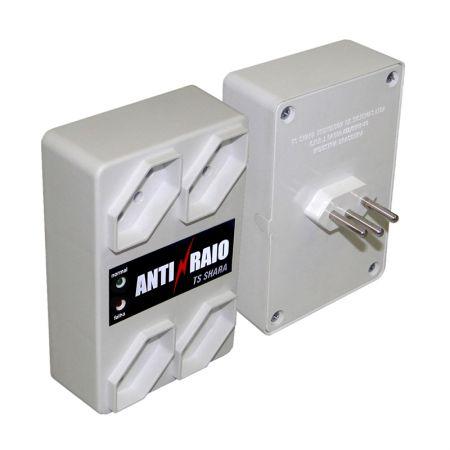 Protetor anti-raio para informática 610 - 4 tomadas - Ts Shara