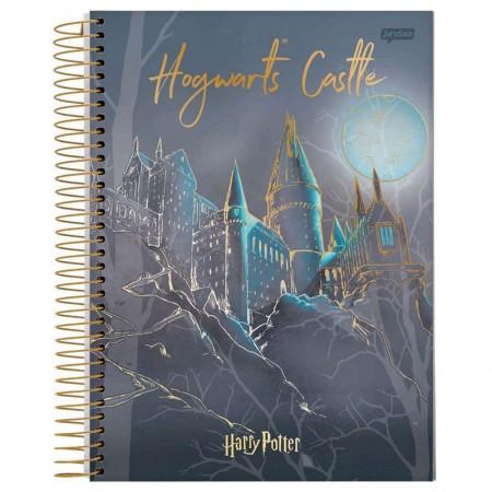 Caderno espiral capa dura universitário 1x1 - 96 folhas - Harry Potter - Capa 1 - Jandaia