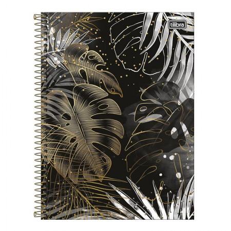 Caderno espiral capa dura universitário 10x1 - 160 folhas - B&W - Capa 1 - Tilibra