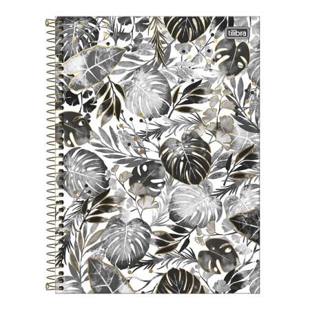 Caderno espiral capa dura universitário 10x1 - 160 folhas - B&W - Capa 2 - Tilibra