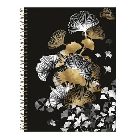 Caderno espiral capa dura universitário 10x1 - 160 folhas - B&W - Capa 3 - Tilibra