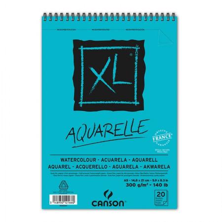 Bloco XL aquarela A5 300g - com 20 folhas - Canson