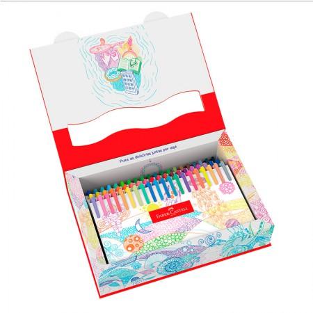Caneta hidrográfica Fine Pen Colors - com 60 Cores - FPB/ES60ZF - Faber-Castell