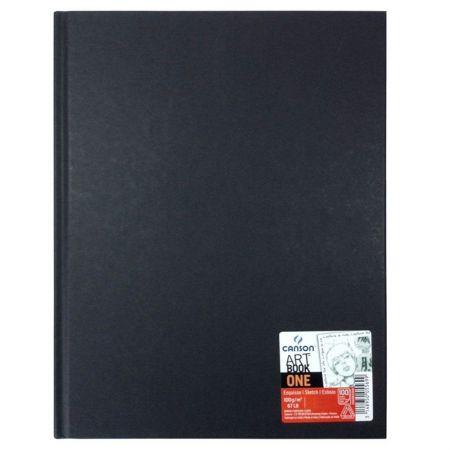 Livro croquis one 21,6x27,9cm 100g - com 100 folhas - Canson