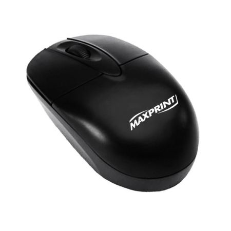Mouse PS/2 óptico 60606-6 preto - Maxprint