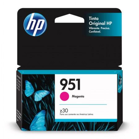 Cartucho HP Original (951) CN051AB - magenta rendimento 700 páginas