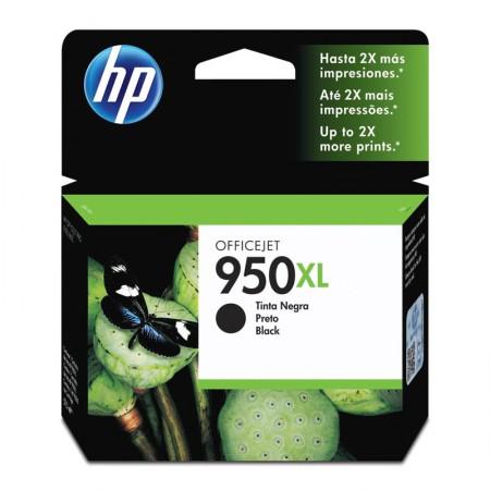 Cartucho HP Original (950XL) CN045AB - preto rendimento 2.300 páginas