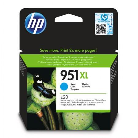Cartucho HP Original (951XL) CN046AB - ciano rendimento 1500 páginas