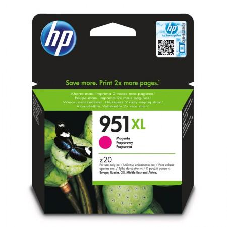 Cartucho HP Original (951XL) CN047AB - magenta rendimento 1500 páginas