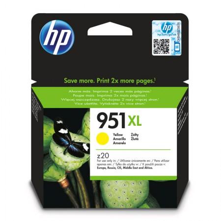 Cartucho HP Original (951XL) CN048AB - amarelo rendimento 1500 páginas