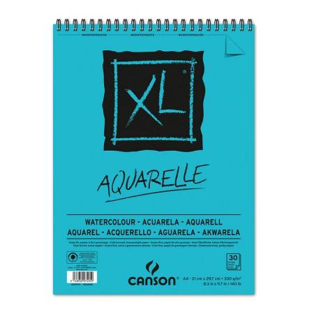 Bloco XL aquarela A4 300g - com 30 folhas - Canson