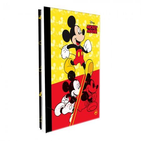 Pasta catálogo sem visor - 2593 - Mickey - com 10 envelopes plásticos - Dac
