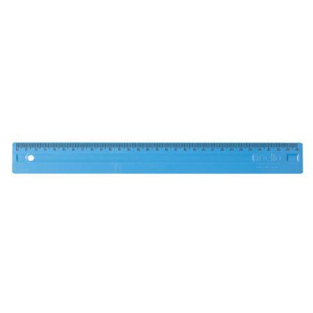 Régua plástica 30cm - Azul - 3112.C - Dello