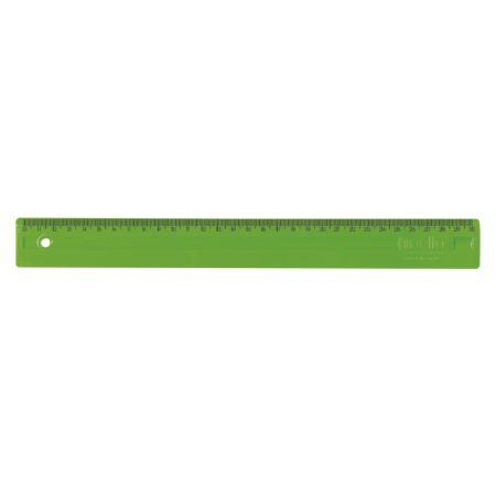 Régua plástica 30cm - Verde - 3112.T - Dello