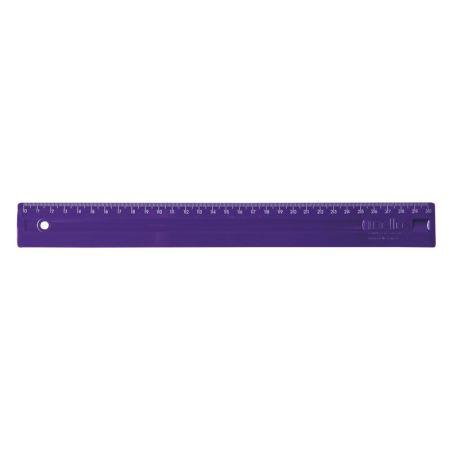 Régua plástica 30cm - Roxa - 3112.R - Dello