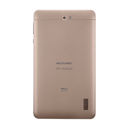 Tablet M7S plus 3G quad core - dourado - NB272 - Multilaser