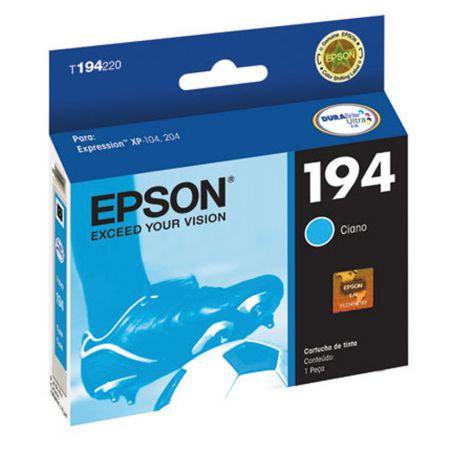 Cartucho Epson (194) T194220 - ciano 150 páginas