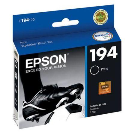 Cartucho Epson (194) T194120 - preto 130 páginas