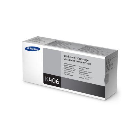 Toner Samsung CLT-K406S / 4HY99A preto 1.500 páginas - serie CLP-360/365