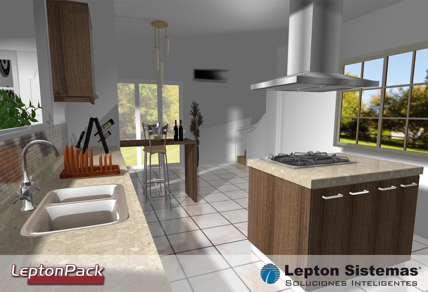 Increíble Software De Diseño De Cocina 3D Descarga Gratuita La ...