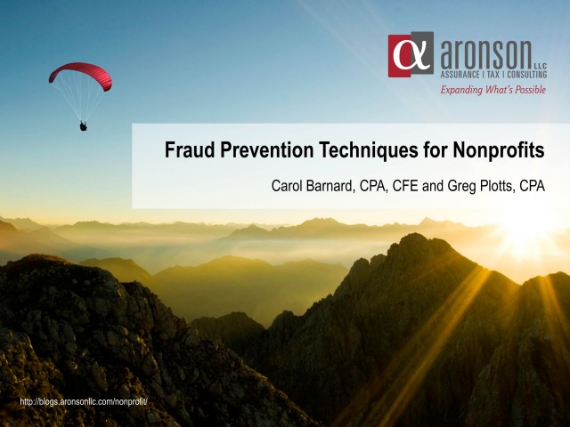 Fraud Prevention Techniques for Nonprofits