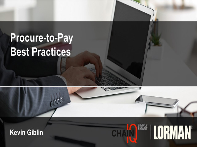Procure-to-Pay (P2P) Best Practices