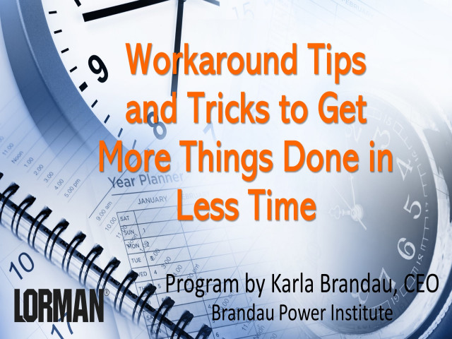 Workaround Tips and Tricks to Get Things Done