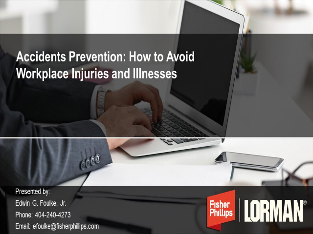 Accident Prevention: How to Avoid Workplace Injuries and Illnesses