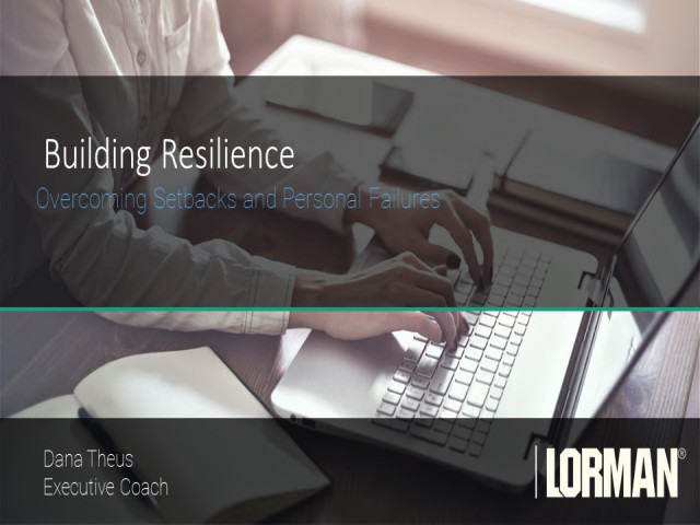 Building Resilience: Overcoming Setbacks and Personal Failures