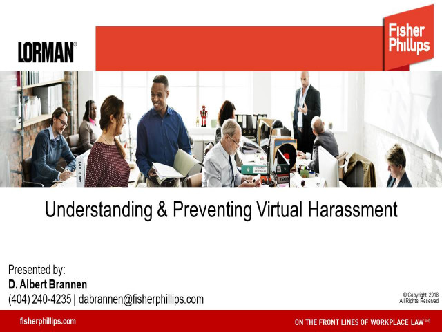 Understanding and Preventing Virtual Harassment