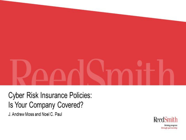 Cyber Risk Insurance Policies: Is Your Company Covered?