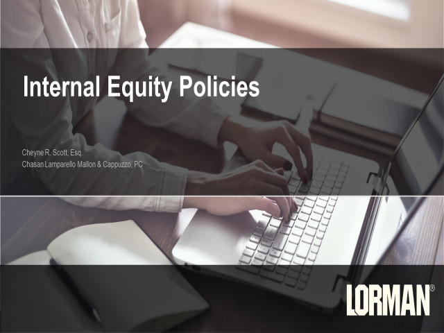 Internal Equity Policies