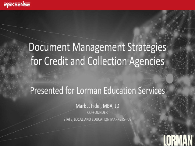 Document Management Ethics and Best Practices for Credit and Collection Agencies