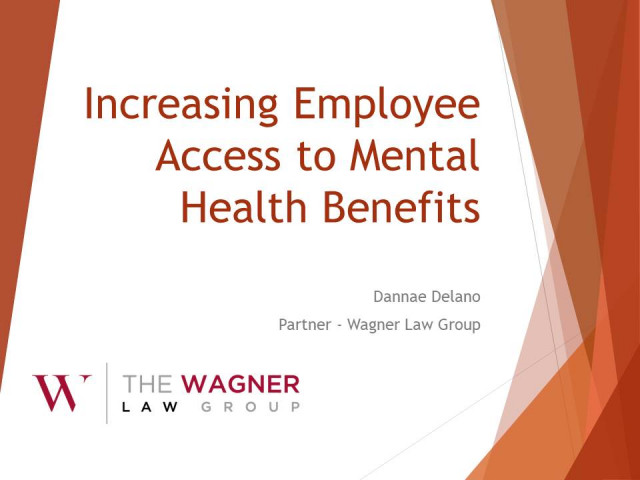 How To Increase Employee Access to Mental Health Benefits