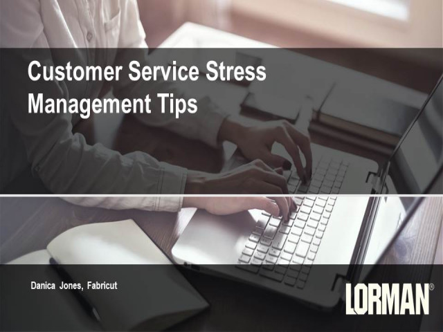 Customer Service Stress Management Tips