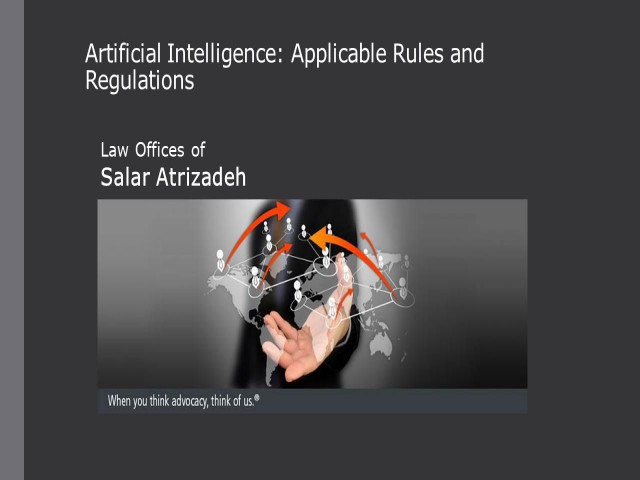 Artificial Intelligence: Applicable Rules and Regulations