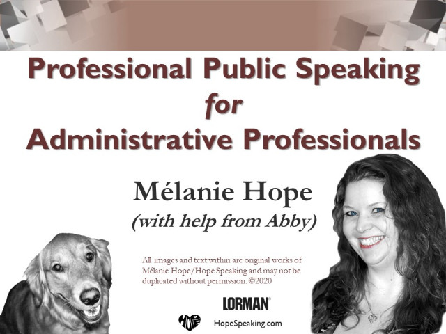 Fear-Free Public Speaking for Administrative Professionals