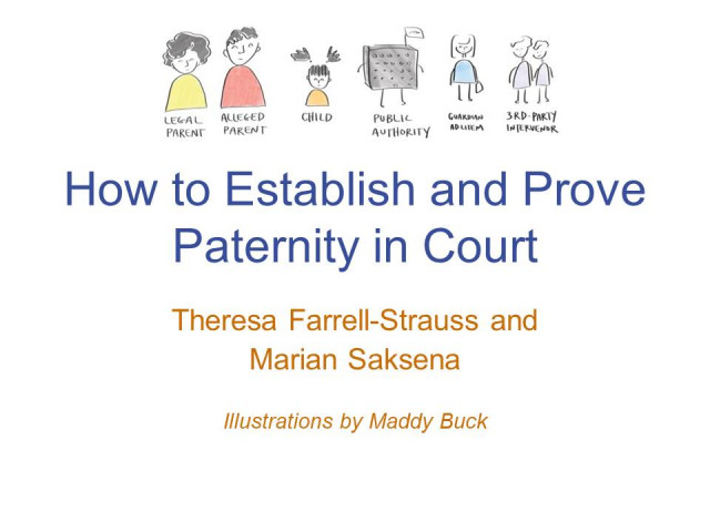 How to Establish and Prove Paternity in Court