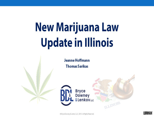 New Marijuana Law Update in Illinois